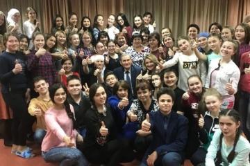 Казанда узган татар теле һәм әдәбиятыннан төбәкара олимпиада җиңүчеләре билгеле!