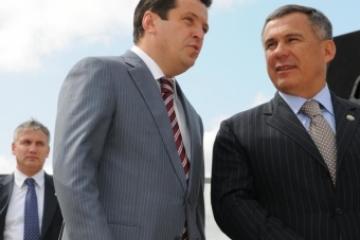 Татарстан Президенты Әлмәттә яңа балалар бакчасында булды