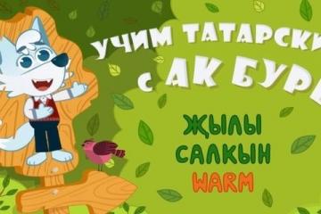 Дөньяның төрле почмакларында яшәүчеләр татар телен мультфильм аша өйрәнә