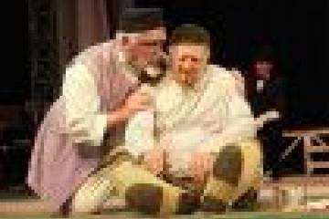 """Бүген Камалда - Т.Миңнуллинның """"Әлдермештән Әлмәндәр"""" спектакле белән Арча халык"""