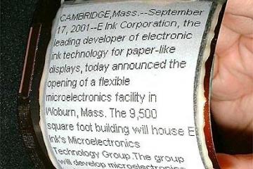 PaperPhone дип аталган кәгазь компьютер