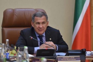 Татарстан Республикасы Президенты Рөстәм Миңнеханов