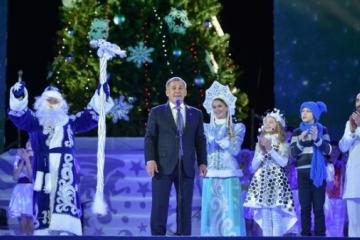 Президент чыршысына 7 мең бала җыелды