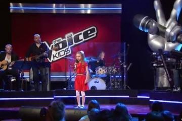 Финляндиядәге татар кызы The Voice Kids бәйгесендә инглизчә җыр башкарды
