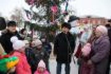 Алабуга, Свияжски һәм Болгар тарихи шәһәрләрендә Яңа ел уңаеннан күптөрле чарала