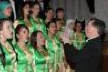 татар халык хоры студентлар коллективының соңгы концерты