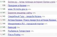 Интернет челтәрендә татар сайтларының популярлыгы арта бара