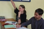 Свердлау өлкәсенең Екатеринбург шәһәре МРОМ Мәгариф (укыту йорты) лингвистик курсларга кеше җыя