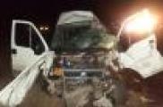 Юл-транспорт һәлакәтенә очраган автобус белән идарә итүче исерек килеш руль арты