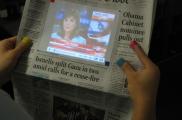 Интерактив кәгазь газеталар (Aurasma технологиясе)