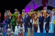 Татарстан мәктәпләре укучылары республика Чыршы бәйрәмендә кунакта булды