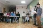 Петровка Завод мәктәбендә студентлар белән очрашу бик күңелле узды