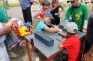 Лаеш районының Комлы Кавал авылында балалар өчен Сабантуй