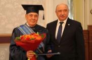 Минтимер Шәймиев КФУның шәрәфле докторы булды