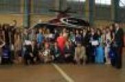 Вертолет җыярга мәктәптән үк өйрәтәләр