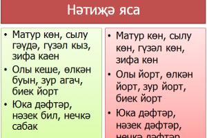 Синоним һәм антоним сыйфатлар